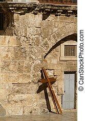 A cross in Jerusalem
