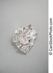 A Crumpled Piece of Aluminium Foil