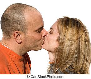 a, csókol