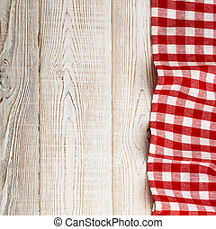 a cuadros, tapa de madera, cuadrado, mantel, mesa., blanco,...