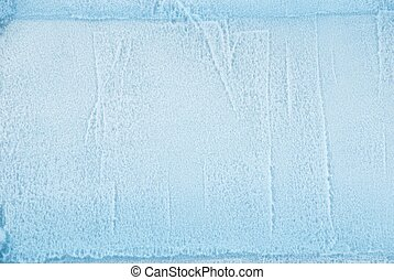 ice as texture - a cube of ice as texture or background