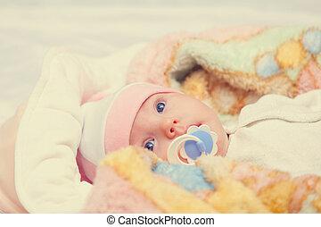 A cute little baby