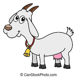 goat with bell stock illustrations 50 goat with bell clip art rh canstockphoto com goat clipart images black and white goat clipart images black and white