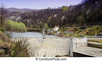 a dam - alpine dam