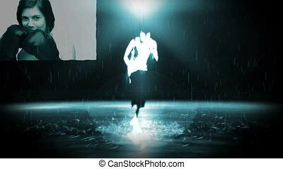 A dancer busting some moves