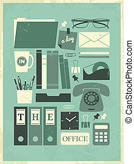 A Day in the Office Poster
