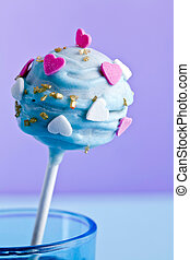 a decorative cakepop - a decorative cake pop maybe for...
