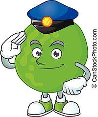 A dedicated Police officer of sarcina ventriculli cartoon ...