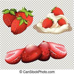 A Delicious Strawberry Dessert Menu
