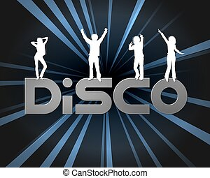 a, disco, affiche