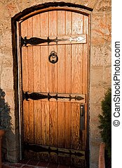 Door - A door is a moveable barrier used to cover an opening...