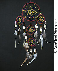 A dreamcatcher - A beautyful dreamcatcher...