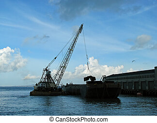 Dredger Ship
