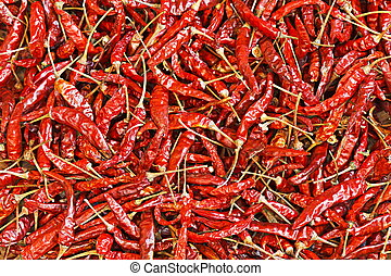 A Dry Red Chili For Pattern
