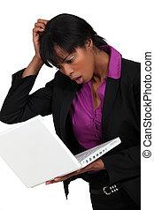 A dubious black businesswoman.