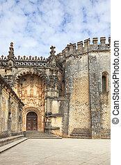 a, entrada principal, e, a, ornate, arco