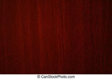 a, escuro, marrom, textura madeira, com, padrões naturais