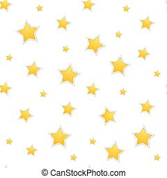 a, estrela, fundo