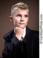 boys hairstyle - a example of boys hairstyle