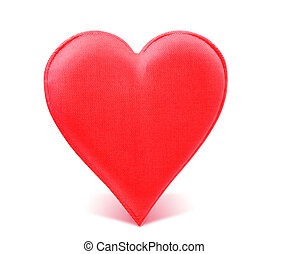 Fabric Red Heart