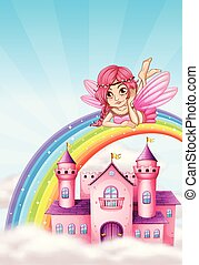 A fairy at the castle