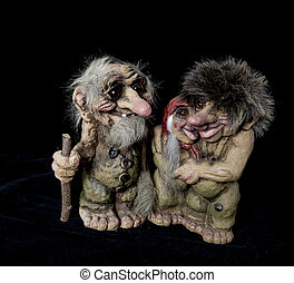 A family of trolls