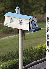 A fashion mail box