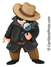 A fat detective