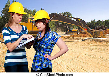 Female Construction Worker