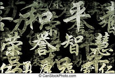 Feng Shui - A Feng Shui Auspicious Art Abstract Background