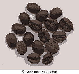 A Few Coffee Beans