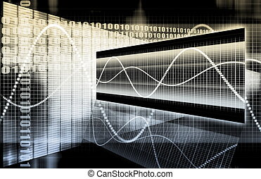 Finance Spreadsheet Tech Graph