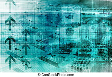 Finance Spreadsheet - A Finance Spreadsheet Tech Graph Art...