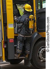 A firemen