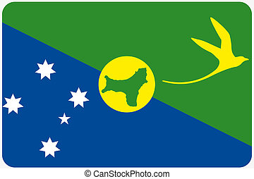 Blue globe with flag of christmas island isolated on white pictures - Search Photographs and ...