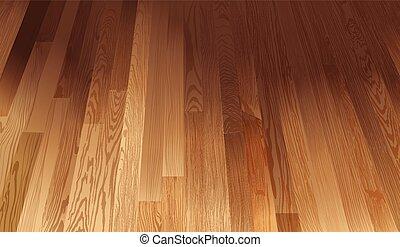 A wooden floor texture