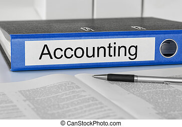 A folder with the label Accounting