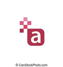 A Font Vector Template Design