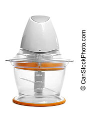 a food processor on a white background