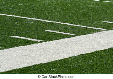 Football field side line