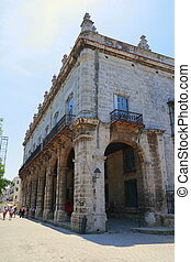 A fort in Old Havana