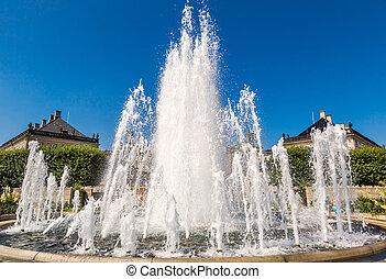 A fountain in Copenhagen, Denmark