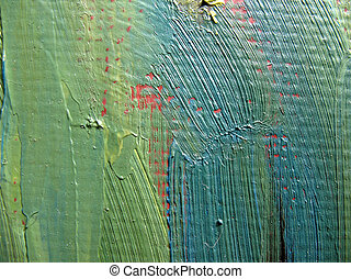 A fragment of the canvas