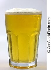 a frosty glass of beer