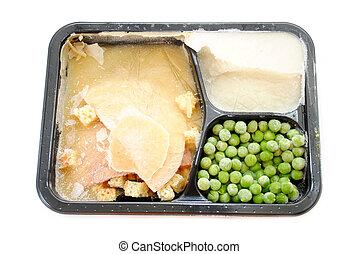 A Frozen Turkey TV Dinner