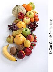 A fruit assortment.
