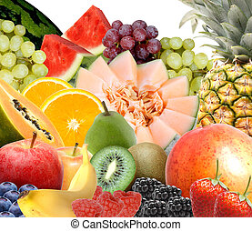 A fruit selection