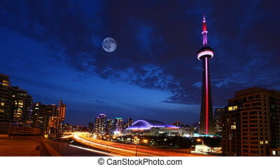 Full Moon over Toronto - A Full Moon over Toronto