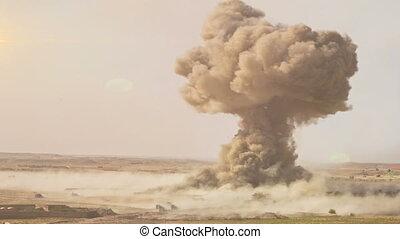 A Full Nuclear Detonation - A Nuclear Detonation. Realistic...