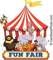 A Fun Fair with Animals